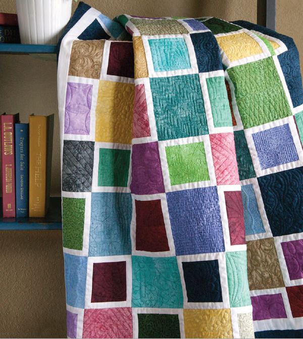 MediterraneanMosaic bl 3 Free Beginner Quilt Patterns!