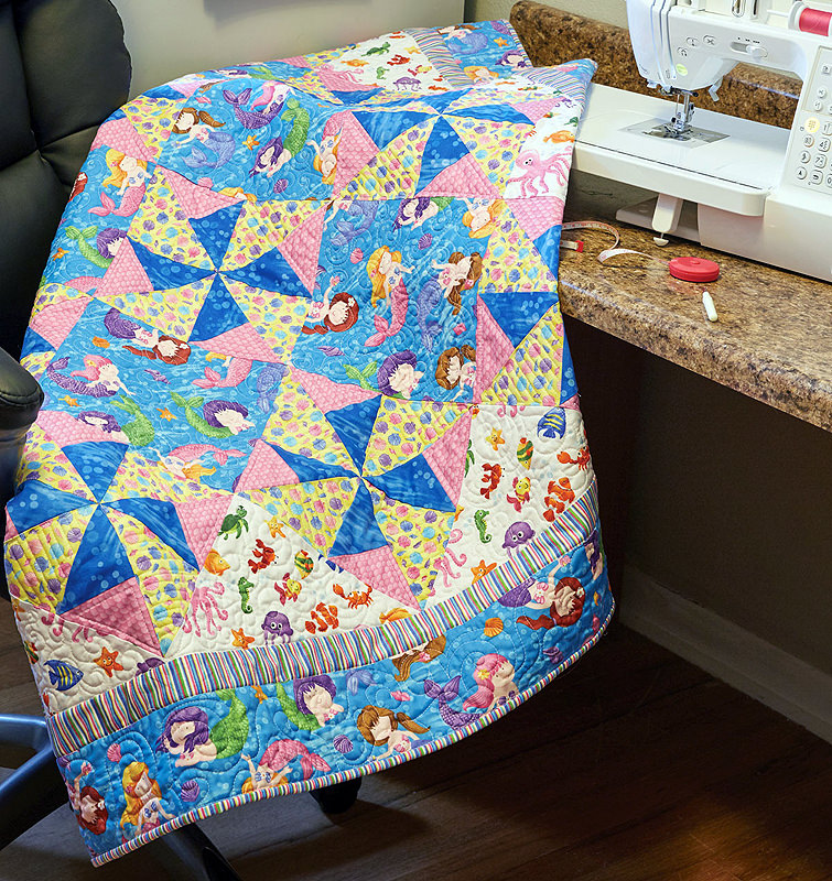 Merry Mermaids Kids Quilt Fons Porter The Quilting Company