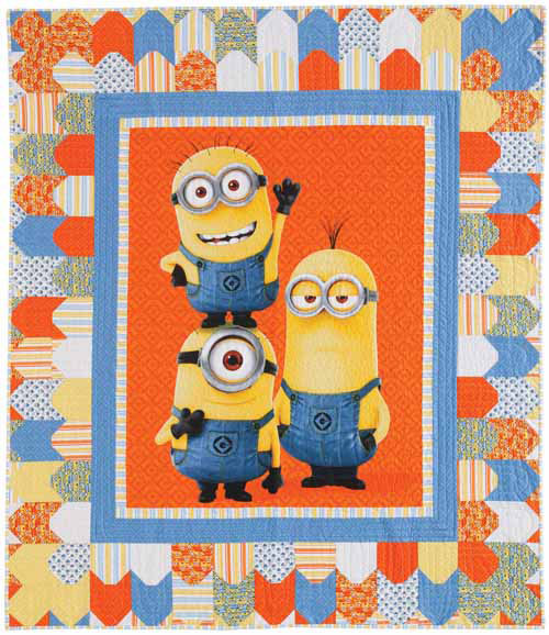 Minion BabyQuilt 5 Quick Baby Quilts
