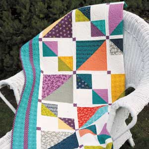 Mix It Up: Weekend Fat Quarter Lap Quilt Pattern - The Quilting ... : quilt in a weekend - Adamdwight.com