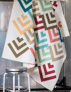 Mod Cabin Quilt Pattern