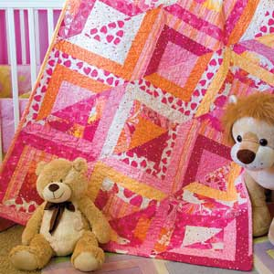 The Modern Baby FREE Blue Is For Boys Quilt Pattern By Beverly Sullivant
