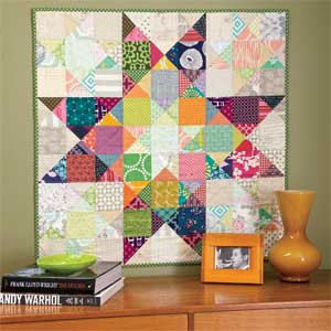 Modern Ohio Star: Quick Clever Value-Placement Wall Quilt Pattern ... : ohio star quilt shop - Adamdwight.com