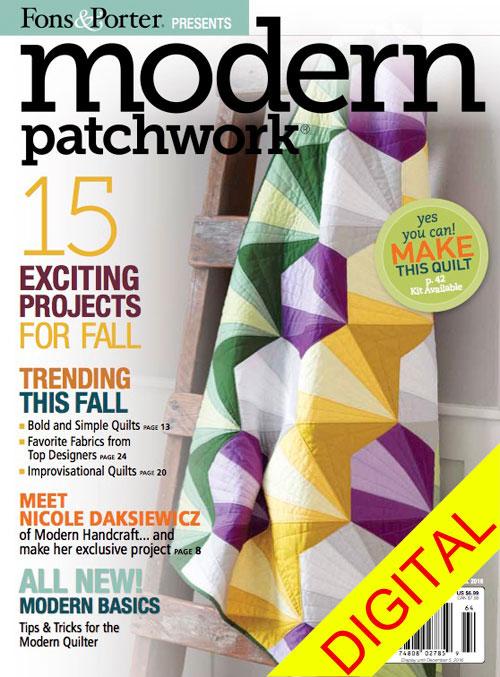 Modern Patchwork Fall 2016
