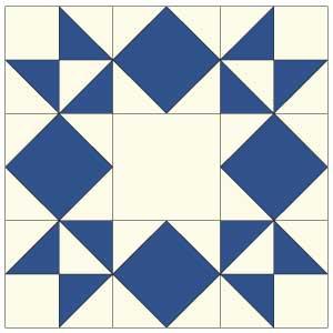 Moonlight Star: FREE Quilt Block Pattern - The Quilting Company : star quilt pattern - Adamdwight.com