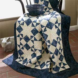 Moonlight Stars: Quick Classic One-Block Lap Quilt Pattern - The ... : classic quilt patterns - Adamdwight.com