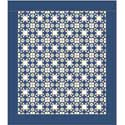 Moonlight Stars: FREE Classic One-Block Bed Quilt Pattern