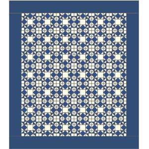 Moonlight Stars: FREE Classic One-Block Bed Quilt Pattern - The ... : classic quilt patterns - Adamdwight.com