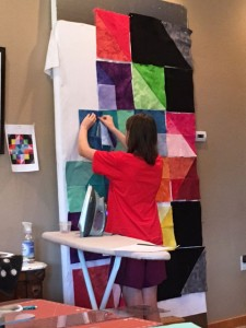 MorganDesignWall 225x300 Kids are Quilting: 5 Things are Learned Teaching Kids to Quilt