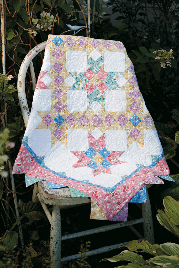 Nellies Garden Quilt Fons Amp Porter The Quilting Company