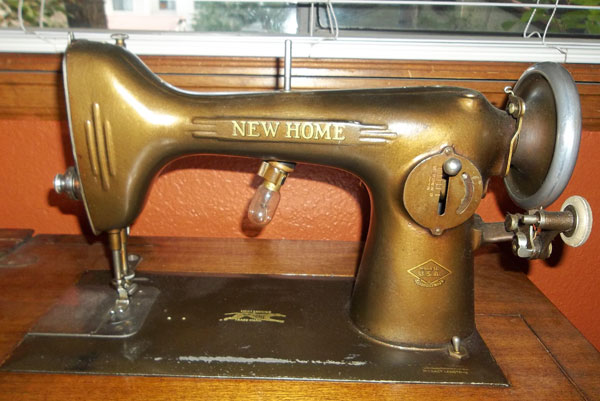 NewHome My Vintage Sewing Machines