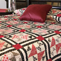 News Flash: Classic Block Design Bed Quilt Pattern