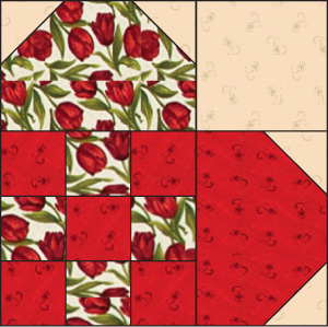 Nine-Patch Heart: FREE Quilt Block Pattern - The Quilting Company : heart quilt block pattern free - Adamdwight.com