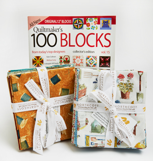 Northcott Quiltmaker's 100 Blocks Vol. 15 Blog Tour: Day 4
