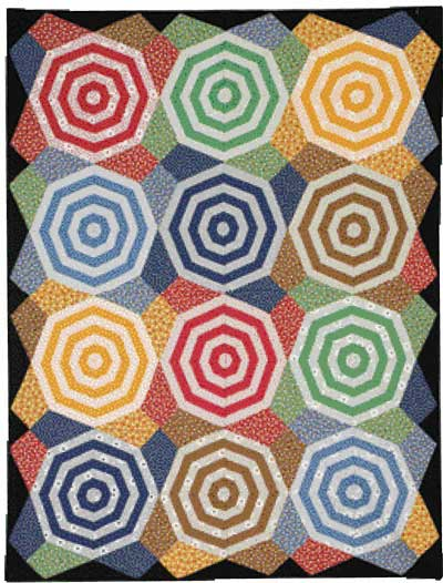 Nuts and Bolts FLAT 400px Friday Free Quilt Patterns: Nuts and Bolts