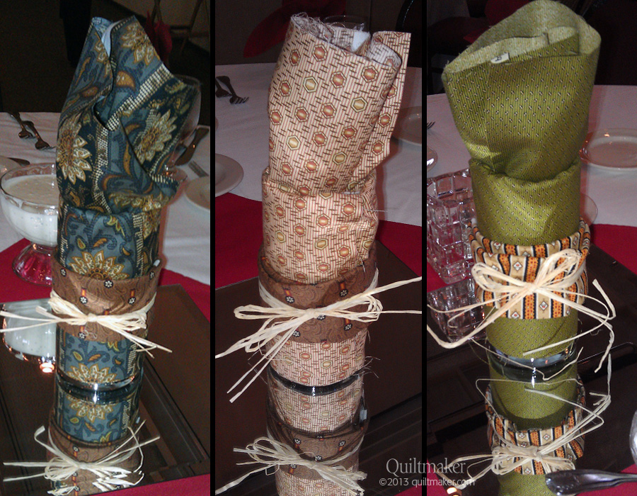 OnTables copy Tutorial: Quilty Centerpieces from Two Fat Quarters