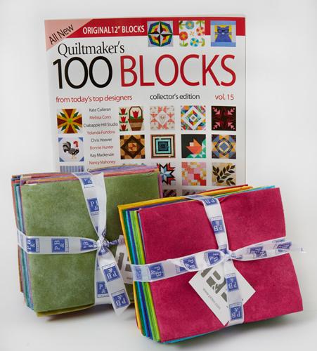 PB Quiltmaker's 100 Blocks Vol. 15 Blog Tour: Day 5
