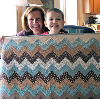 Carolyns Chevron QuiltFree Pattern - The Quilting Company : chevron quilts patterns - Adamdwight.com