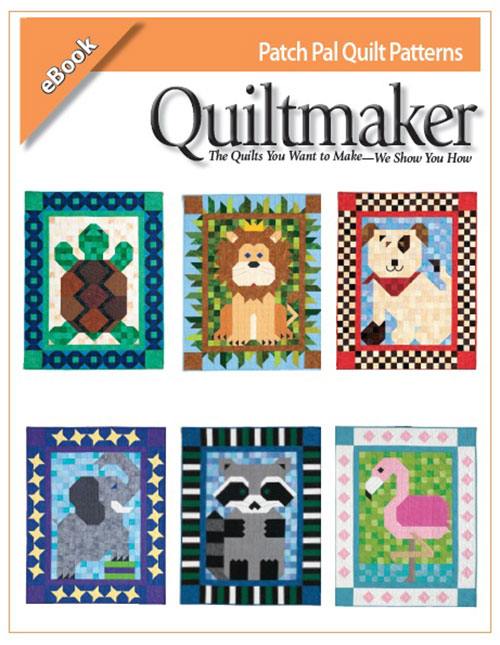 PatchPaleBook2 Quiltmakers Patch Pals Collection