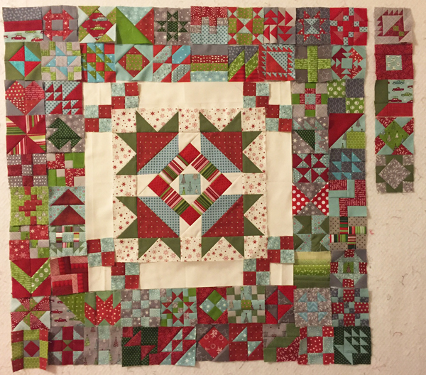 Paula600 Quilt Design Wall Monday: 365 Challenge x 2!