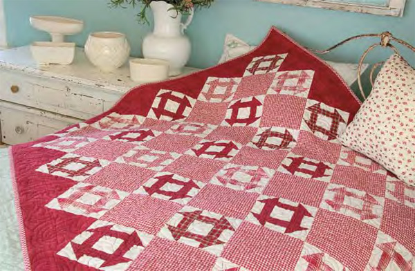 Friday Free Quilt Patterns: Peppermint Dash   McCall's Quilting ... : free perfect 10 quilt pattern - Adamdwight.com