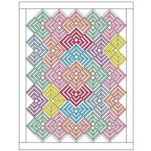 Pixie Sticks: FREE Fat Quarter Lap Quilt Pattern - The Quilting ... : fat quarter quilt pattern free - Adamdwight.com