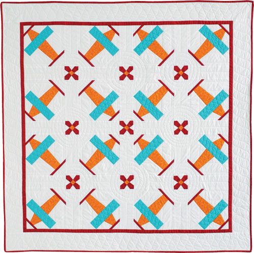 Plane BabyQuilt 5 Quick Baby Quilts