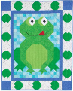 Pond Patch Baby Quilt Pattern Kit