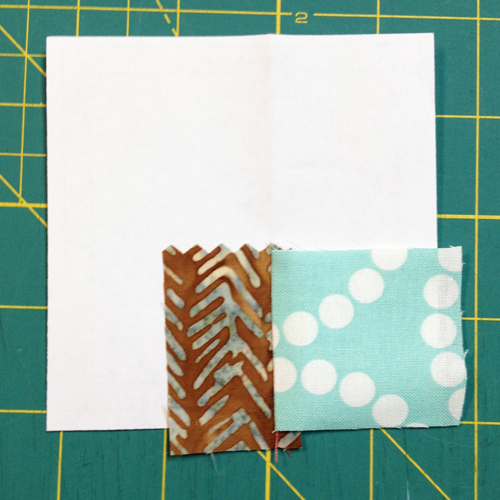 Pressed QM Bitty Blocks: Octobers Bitty Tree