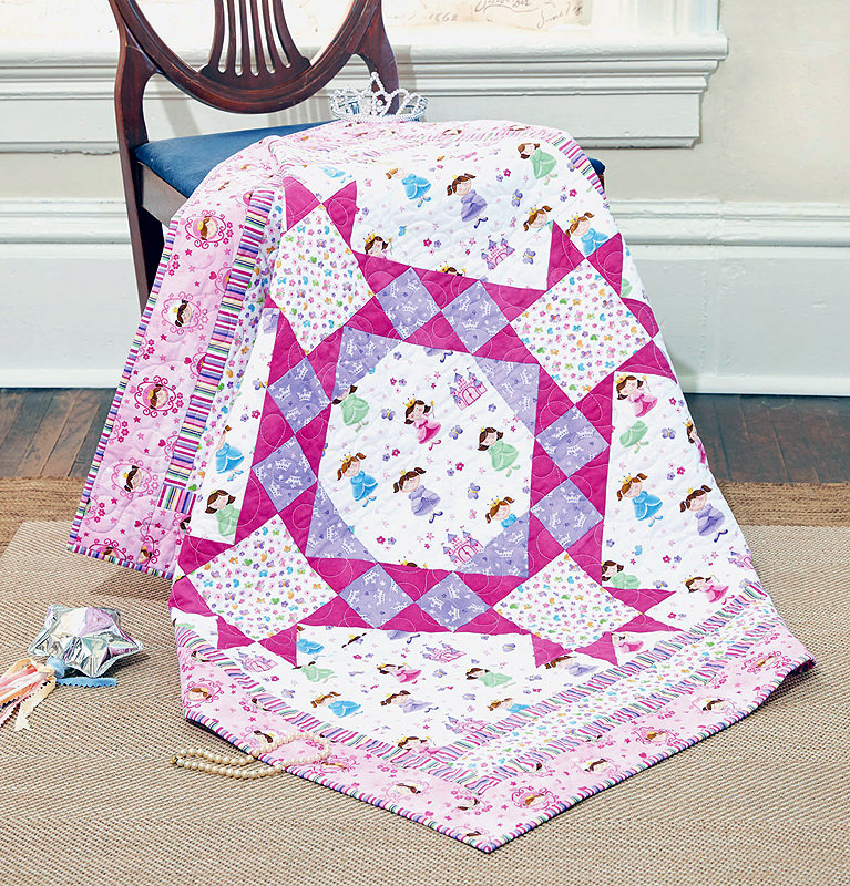 Pretty Little Princess Quilt Fons Porter The Quilting Company
