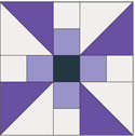 Flying Colors: FREE Propeller Quilt Block Pattern