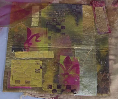 Embellish Fusibles with Color and Texture - Quilting Daily - The ... : fusible quilting - Adamdwight.com