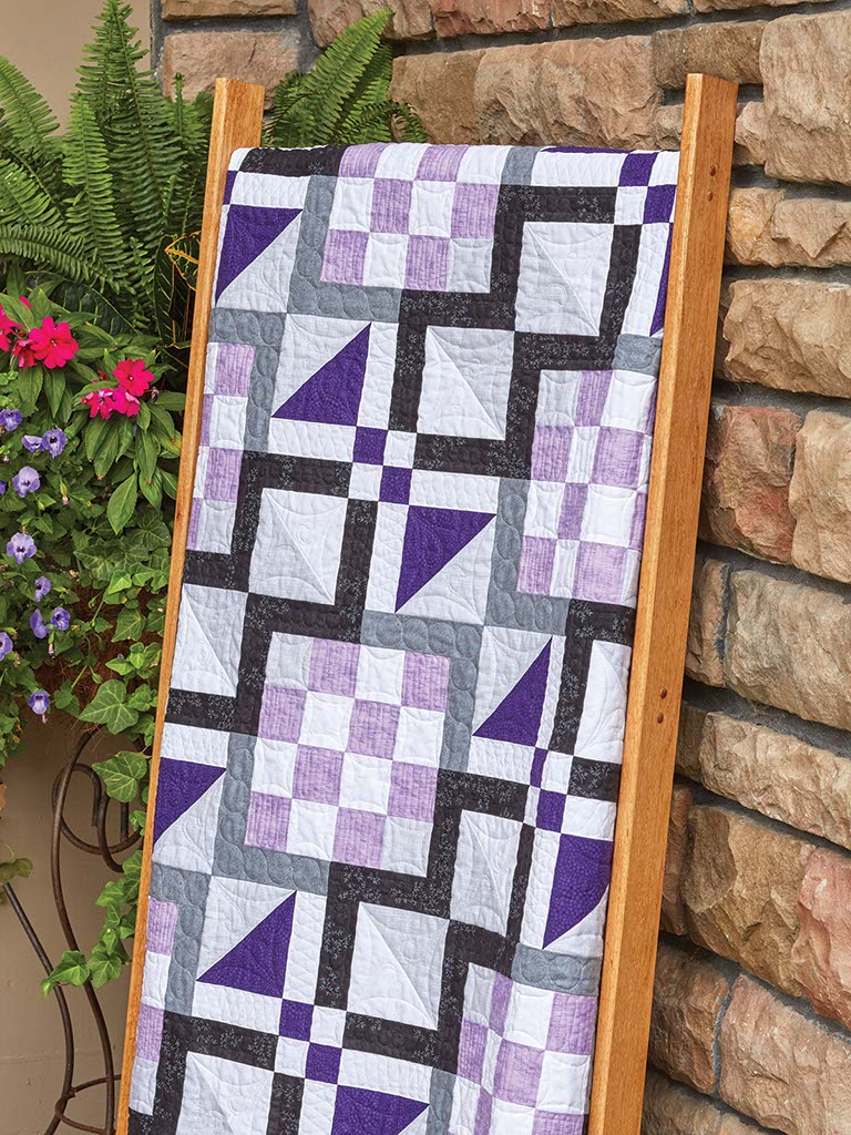 Purple Haze Quilt - Fons & Porter - The Quilting Company : fons and porter quilt kits - Adamdwight.com