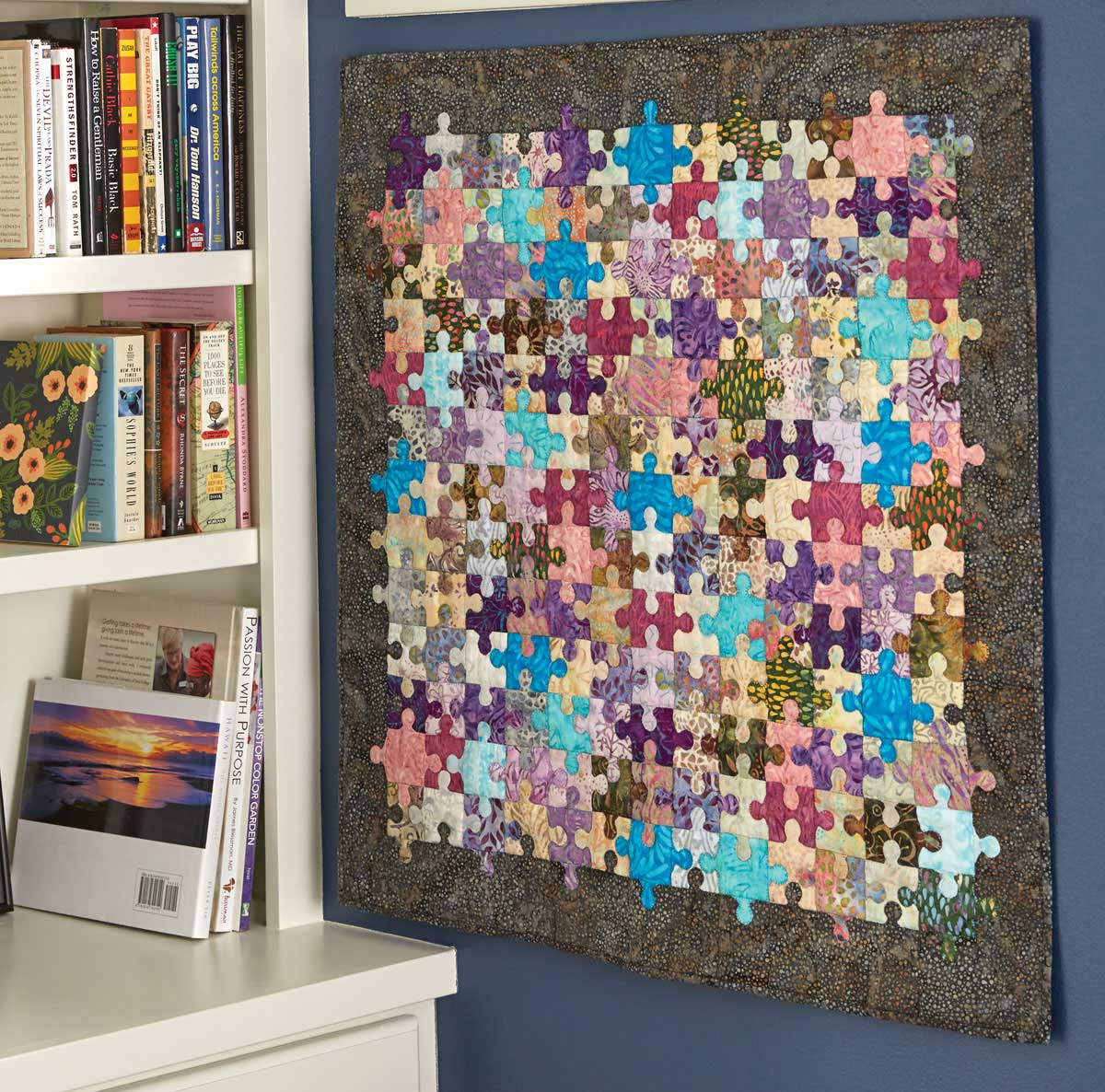 Puzzle Pieces Quilt - Fons & Porter - The Quilting Company : quilting pieces - Adamdwight.com