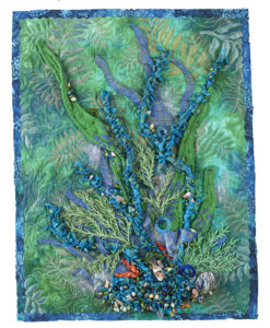 heidi lund, art quilt, embellishment, quilting arts tv