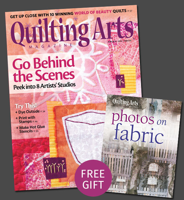 Quilting Arts Magazine - Subscription for June