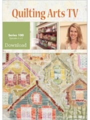 Cover of Quilting Arts TV Series 100