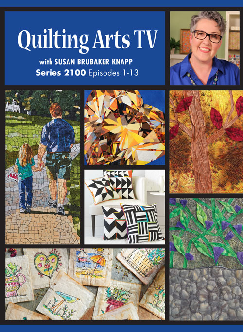 Cover of Quilting Arts TV Series 2100