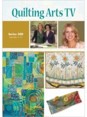 Cover of Quilting Arts TV Series 500