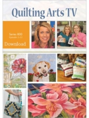 Cover of Quilting Arts TV Series 800