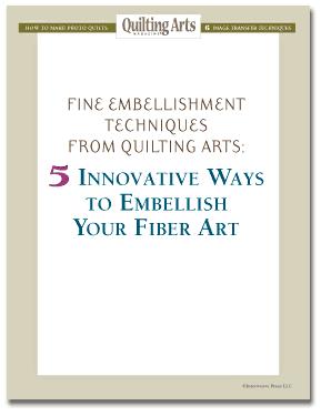 5 Innovative Ways to Embellish Your Fiber Art