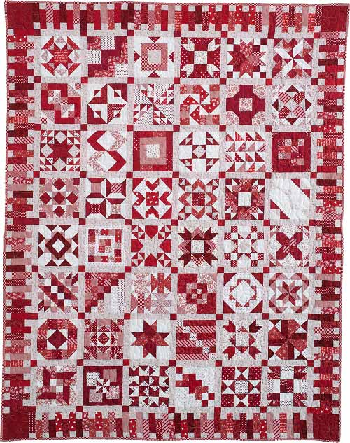 QM red Block of the Month Quilts Youll Love and More!