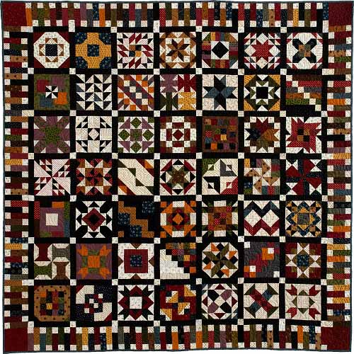 QM repro Block of the Month Quilts Youll Love and More!