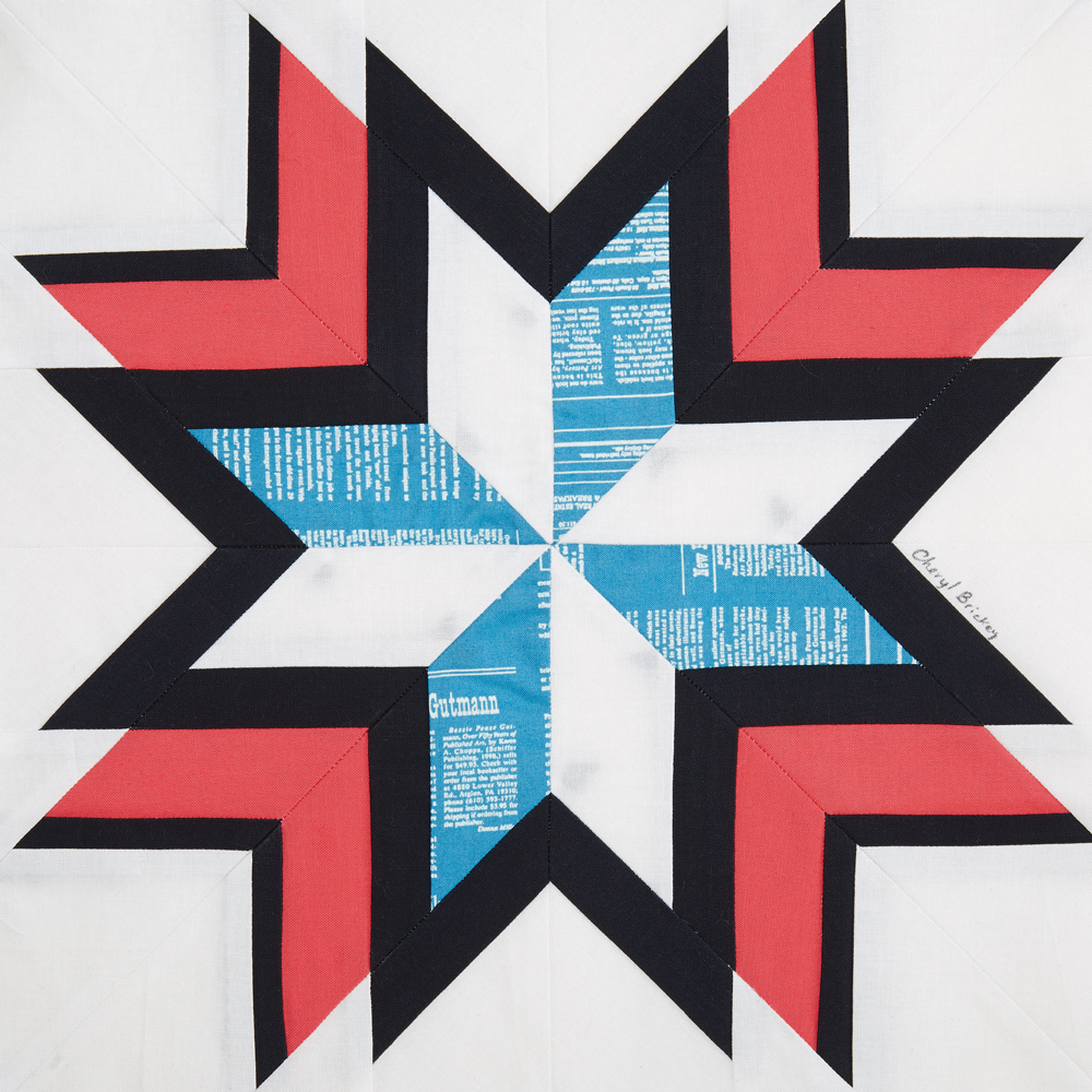 QM100 BRICKEY Quiltmaker's 100 Blocks Vol. 15 Blog Tour: Day 1