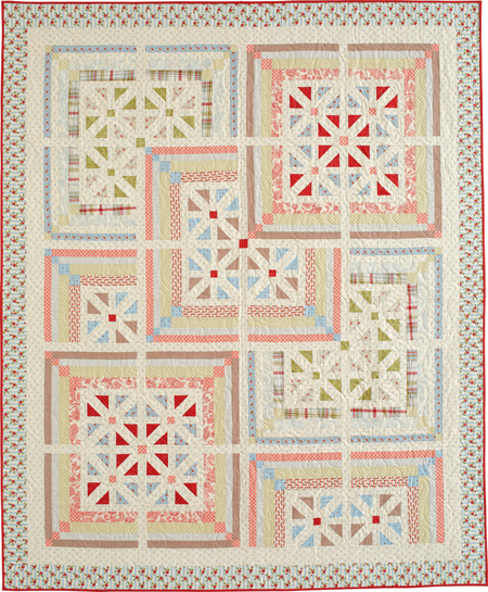 QM1708 SANTA 450flat New Issue: Quiltmaker July/August 17