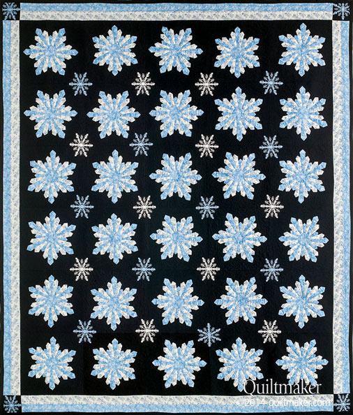 QMMP 150200 SNOWFALL 506px Block Friday at Quiltmaker