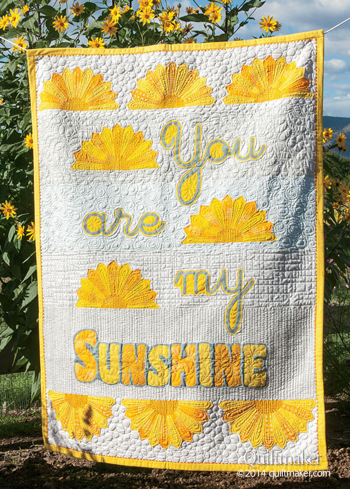 QMMP 150200 sunshine 506px Block Friday at Quiltmaker