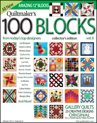 QMMS 130037 cover 200 Its a Guy Thing: Quiltmakers 100 Blocks GIVEAWAY!!!