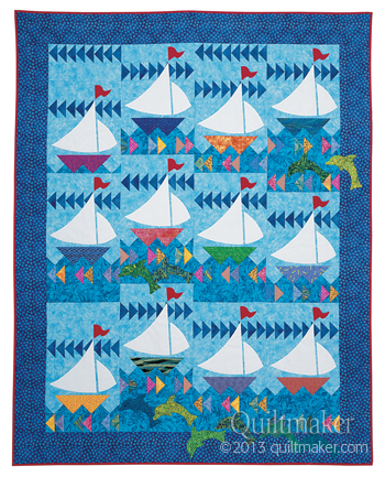QMM ATF03 dolphin 350 Quiltmaker Classics: 29 All Time Favorite Quilts