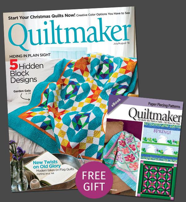 Quiltmaker Magazine - Subscription Offer June